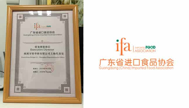 EurochinaBridge as member of IFA