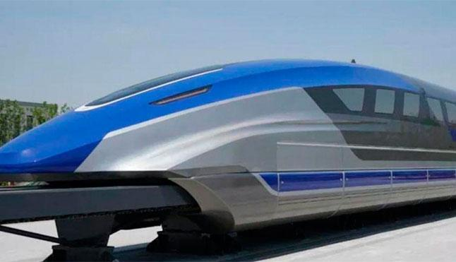 New high-speed magnetic levitation train