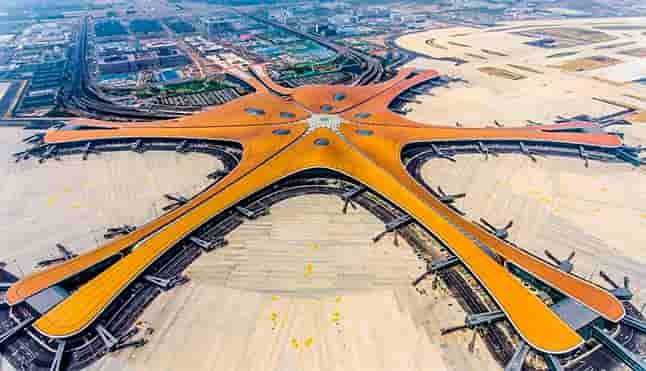 The largest airport in the world